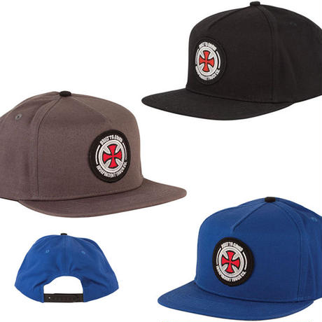 SALE! セール!  INDEPENDENT  BTG PATCH  SNAPBACK CAP