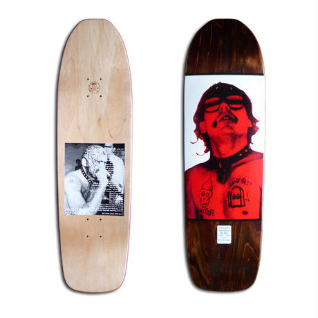 POCKET PISTOLS BEN SCHROEDER GG ALLIN DEDICATED DECK (9.5 x 33.5inch)