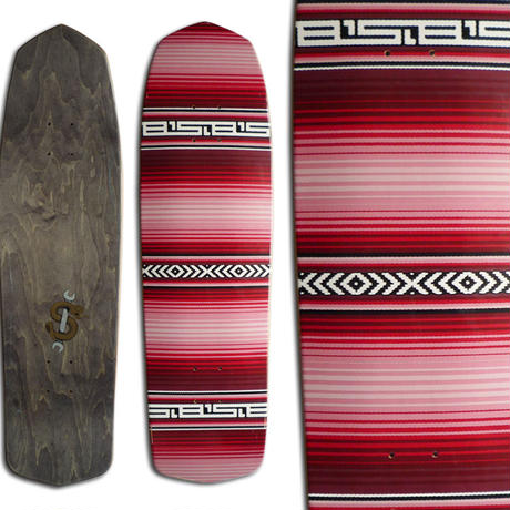 SLBARBIER SARAPE SHAPED DECK (8.85 x  31.5inch)