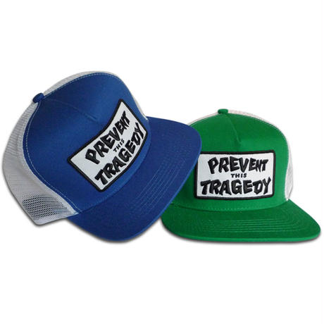 THRASHER PREVENT THIS TRAGEDY MESH CAP