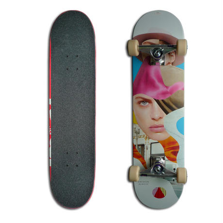 ALMOST DAEWON SONG GIRL COLLAGE COMPLETE SET (7.75 x 31.1inch)