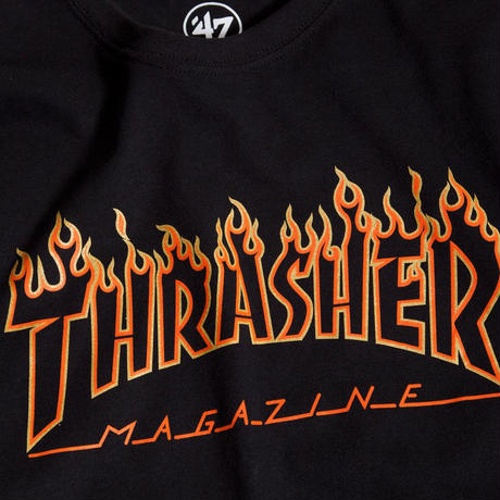 THRASHER x SF GIANTS FLAME SPLITTER TEE