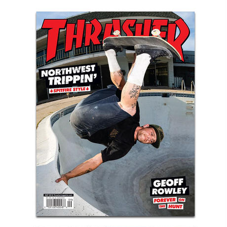 THRASHER MAGAZINE 2019 SEP ISSUE #470