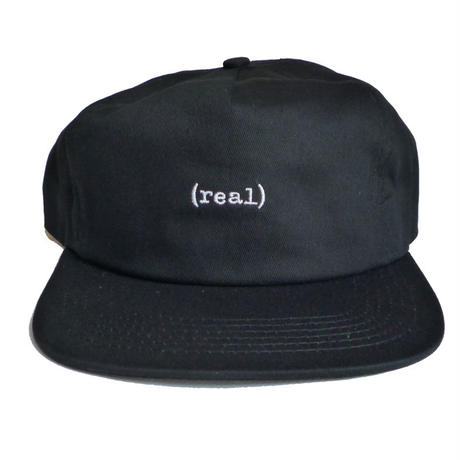 REAL LOWER SNAPBACK CAP