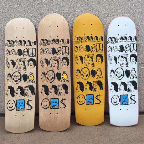 CHRIS JOHANSON LIMITED SIGNED ART DECK