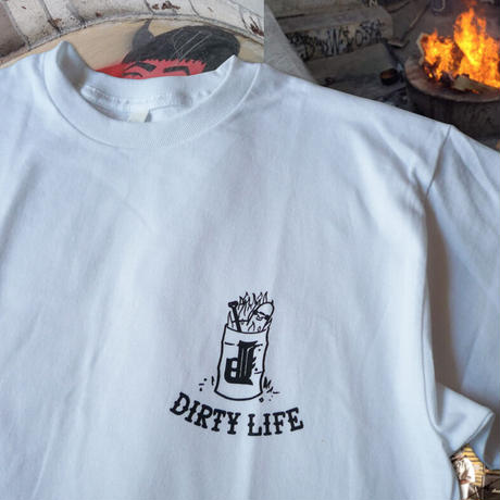 OURLIFE  x DIRTY PIGEON CHEST TEE