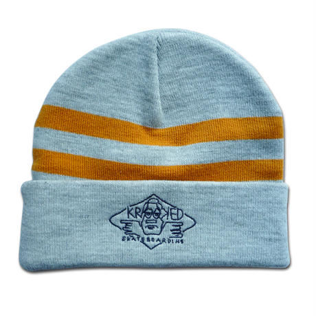 KROOKED ARKETYPE EMBROIDERY CUFF BEANIE