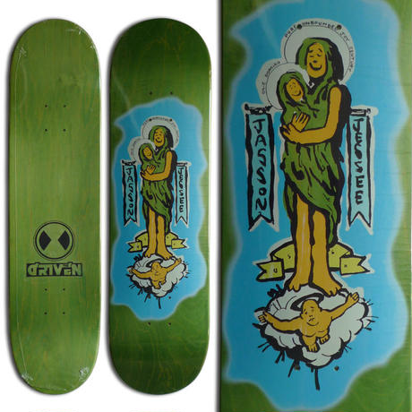 THE DRIVEN JASON JESSEE GUDALUPE ART MARK GONZALES DECK (8.125 x 31.625inch)