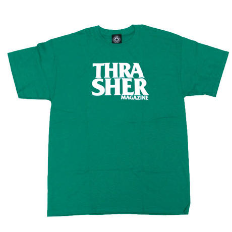 THRASHER  ANTI LOGO TEE