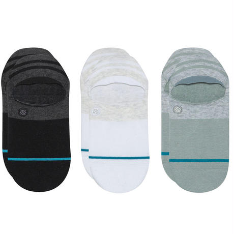 STANCE GAMUT2 NO SHOW SOCKS 3PACK MULTI