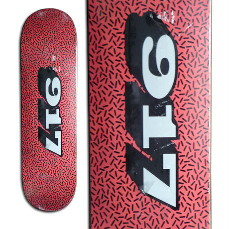 CALL ME 917 SPRINKLE RED DECK (8 x 31.6inch)