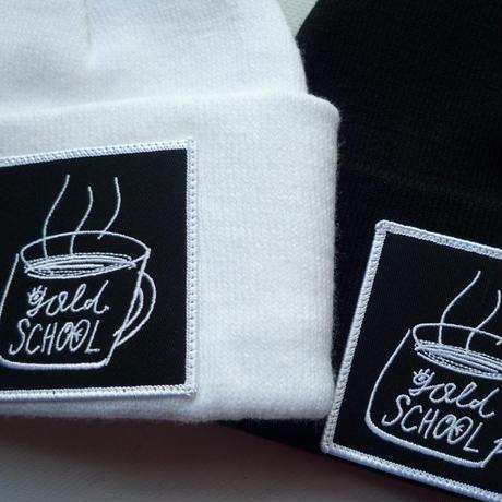 GOLD SCHOOL COFFEE CUP BEANIE