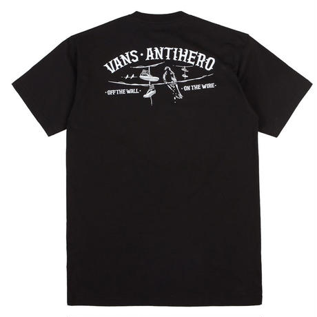 VANS x ANTI HERO ON THE WIRE TEE