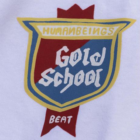 GOLD SCHOOL BEER SHIELD TEE