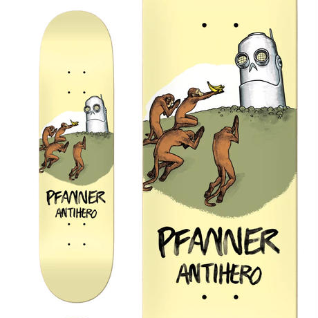ANTI HERO CHRIS PFANNER BLIND LEADING THE BLINDER DECK   (8.18 x 31.85inch)