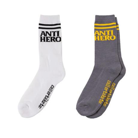 ANTI HERO BLACKHERO IF FOUND SOCKS