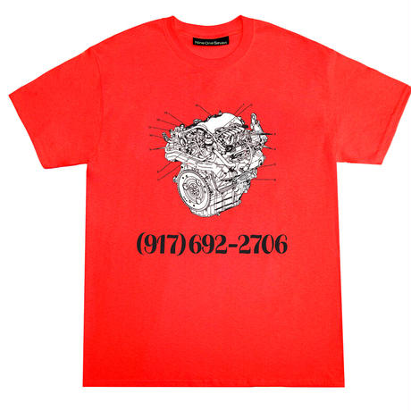 CALL ME 917 ENGINE DIALTONE TEE
