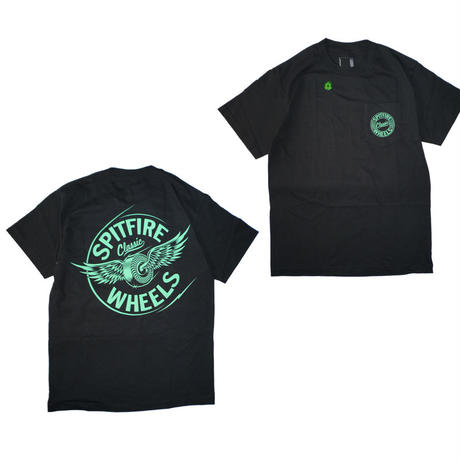 SPITFIRE FLYING CLASSIC GLOW POCKET TEE
