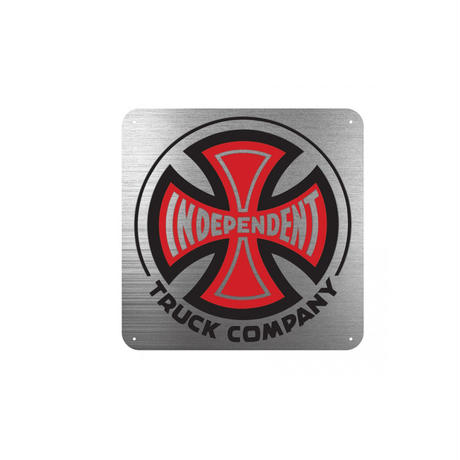 INDEPENDENT TRUCK CO. METAL SIGN