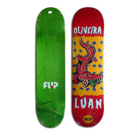 FLIP LUAN OLIVEIRA TIN TOY DECK  (8.13 x 32inch)