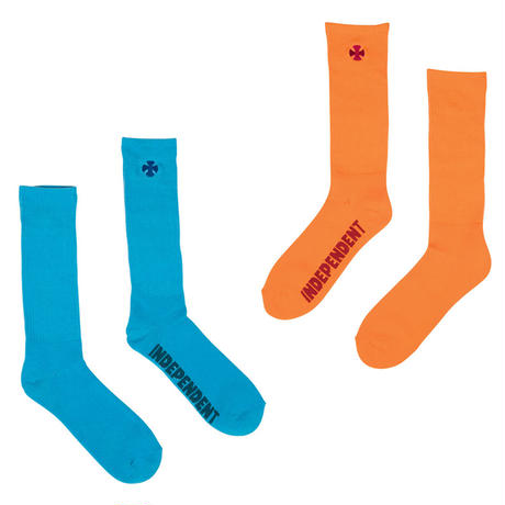 INDEPENDENT LIGHT IT UP CREW SOCKS