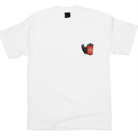 INDEPENDENT BRYCE KANIGHTS TOMMY GUERRERO PHOTO FULL FRAME POCKET TEE