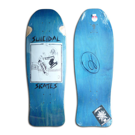 DOGTOWN x SUICIDAL SKATES POOL SKATER DECK (10.125 x 30.5inch)