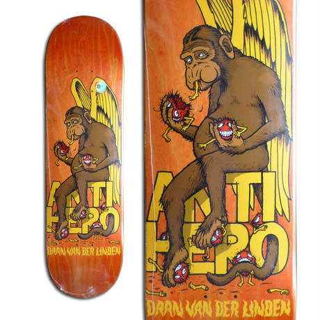 ANTI HERO DAAN VAN DER LINDEN MONKEY BUSINESS DECK (8.5 x 31.8inch)