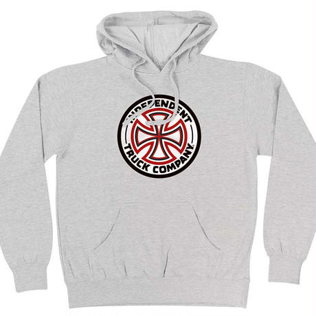 INDEPENDENT RED/WHITE CROSS PULLOVER HOODIE