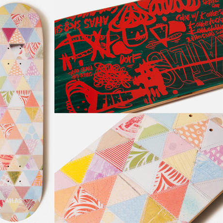 SALE! セール! ATLAS x THOMAS CAMPBELL  PAPER QUILT DECK  (8.5 x 31.9inch)
