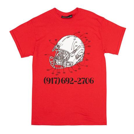 CALL ME 917 FOOTBALL TEE