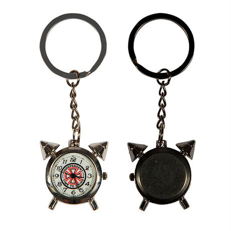 INDEPENDENT TIME TO GRIND KEYCHAIN CLOCK