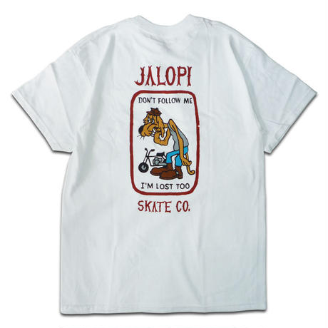 ANTI HERO JALOPI SKATE CO POCKET TEE