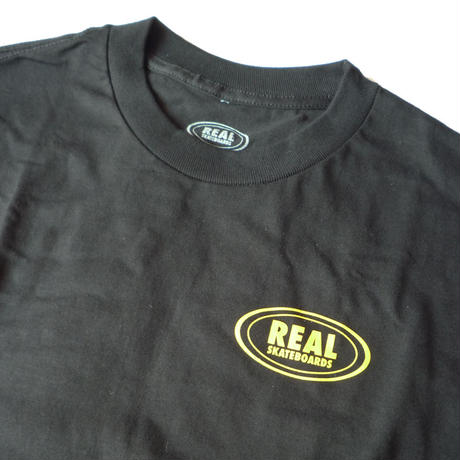 REAL VS EVERYONE OVAL L/S TEE
