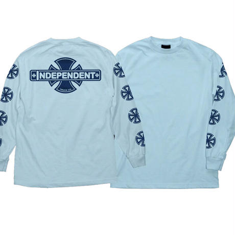 INDEPENDENT CROSS FILL  L/S TEE