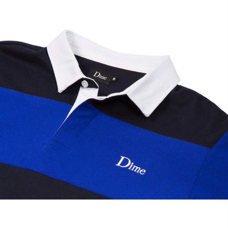 DIME STRIPED RUGBY SHIRT