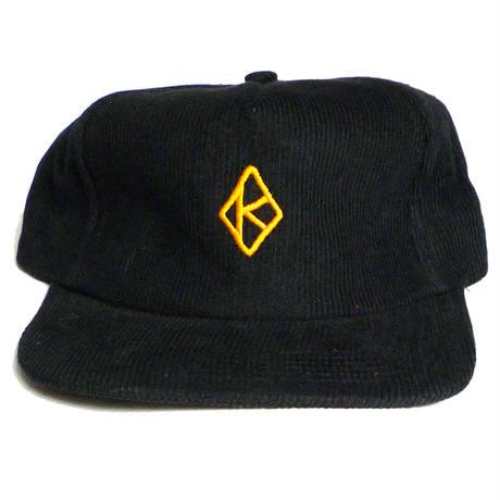 KROOKED DIAMOND K STRAPBACK CAP