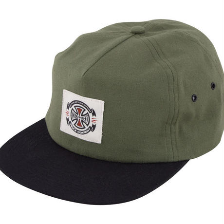 INDEPENDENT ANYTIME LABEL STRAPBACK CAP