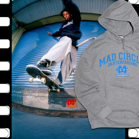DEAR, x BEAMS SSZ x HESHDAWGZ MAD CIRCLE CLASSIC ARC HOODIE