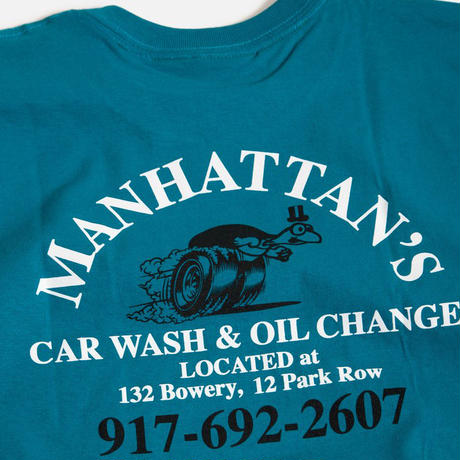 CALL ME 917  MANHATTAN CAR WASH TEE