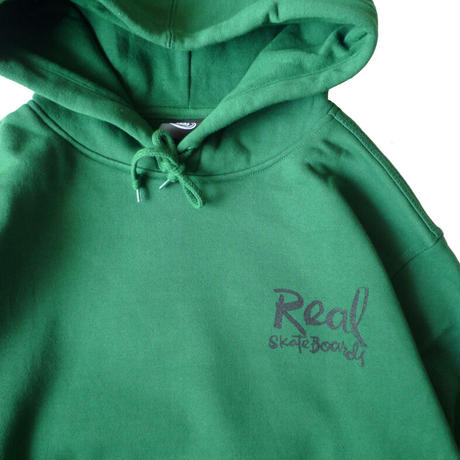 REAL x NATAS KAUPAS WHAT'S RIGHT PULLOVER HOODIE