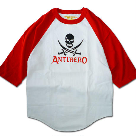 SALE! セール! ANTI HERO SMALL SKULL RAGLAN
