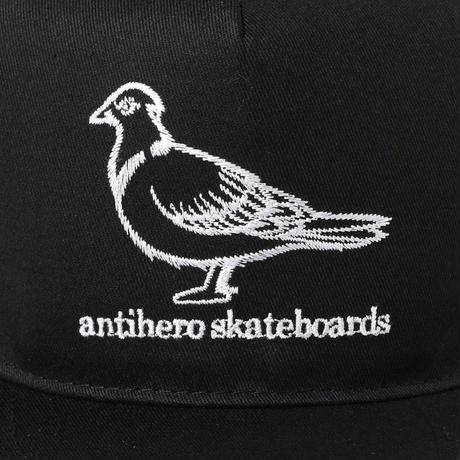 ANTI HERO BASIC PIGEON EMBROIDERED SNAPBACK CAP