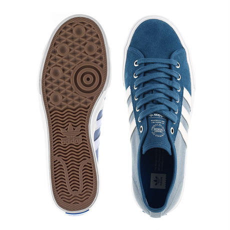 ADIDAS SKATEBOARDING  MATCHCOURT RX SKATE SHOES - CORE BLUE/FOOTWEAR WHITE/TACTILE BLUE