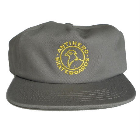 ANTI HERO BASIC PIGEON ROUND SNAPBACK CAP