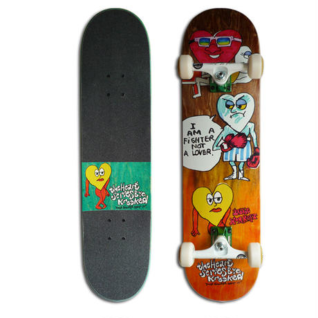 KROOKED BOBBY WORREST THE HEART COMPLETE SET (8.06 x 31.91inch)