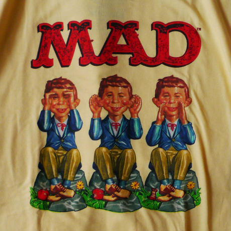 MAD MAGAZINE SEE HEAR SPEAK ALFRED TEE
