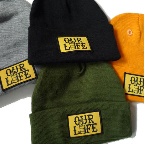 OURLIFE PATCH BEANIE