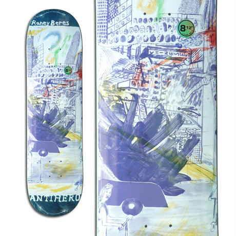 ANTI HERO RANEY BERES SF THEN AND NOW DECK (8.12 x 31.38)