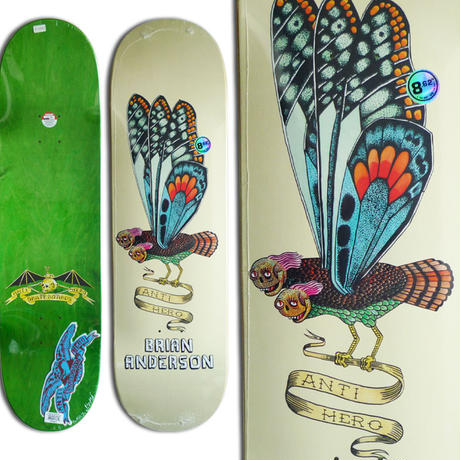 ANTI HERO BRIAN ANDERSON WE FLY DECK   (8.62 x 32.56inch)